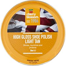 Cherry Blossom High Gloss Shoe Polish/Light Tan /1.69 oz. / Made in England
