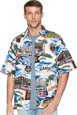 San Francisco Giants Classic Fit Hawaiian Shirt