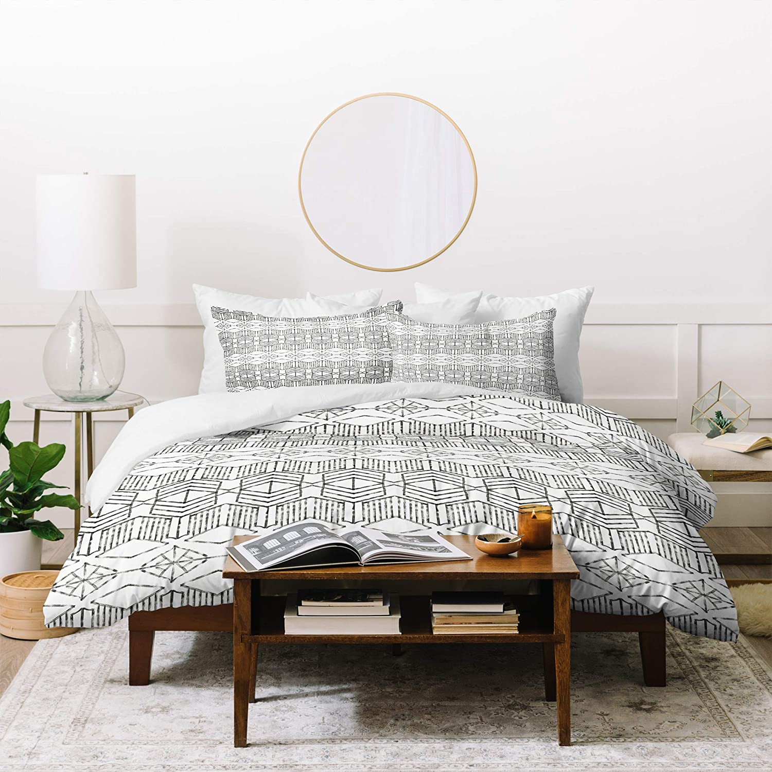 Deny Designs Dash and Ash Cassiopeia Set Duvet 大幅値下げランキング Two Pillow お買い得品 with S