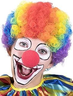 Halloween Accessories - Clown Rainbow Wig