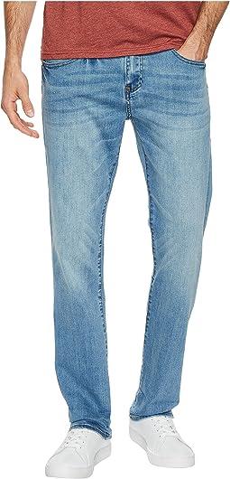 Ben Sherman - Stretch Slim Straight Leg Jeans in Mist Blue Wash