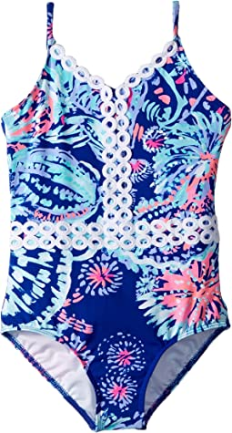 Lilly Pulitzer Kids - UPF 50+ Mals Swimsuit (Toddler/Little Kids/Big Kids)