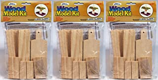 Creative Hobbies Wooden Model Kit Bird Feeder - Wholesale Lot of Ready to Finish 3 Kits