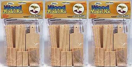 Creative Hobbies Wooden Model Kit Bird Feeder - Wholesale Lot of Ready to Finish 3 Kits