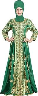 Kurdish Wedding Dress Traditional Persian Embroidered Khaleeji Thobe 6444