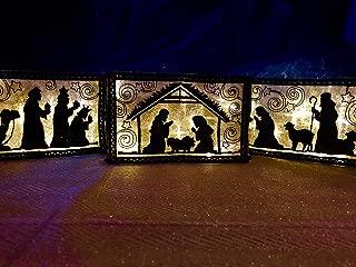 Indoor 3 Piece Nativity Set Lighted Nativity Scene