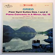 Grieg: Peer Gynt Suites Nos. 1 and 2 / Piano Concerto in A Minor, Op. 16 / Reid Nibley, Piano; The Utah Symphony Conducted By Maurice Abravanel