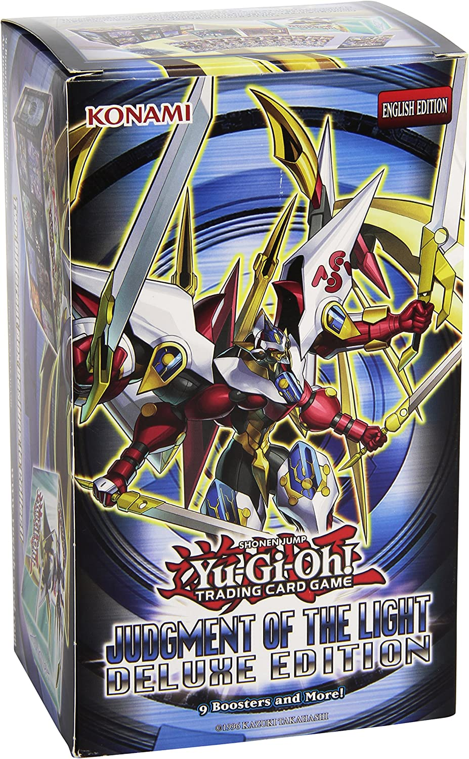 Yugioh Judgment of the Light Deluxe Edition   Monster Box - 9 boosters packs ...