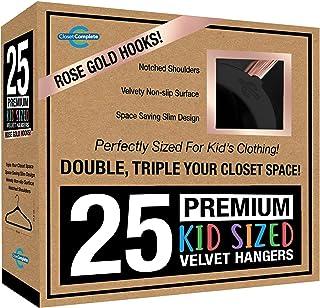 كلوزيت مقاس كامل للأطفال: شماعات مخملية ثقيلة الوزن، رفيعة جدا، موفرة للمساحة 25 71779