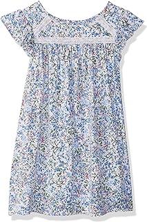 فستان بناتي بأكمام قصيرة من نوتيكا