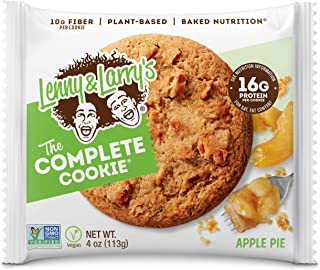 Sponsored Ad - Lenny & Larry's The Complete Cookie, Apple Pie, 4 Ounce Cookies - 12 Count, Soft Baked, Vegan and Non GMO P...