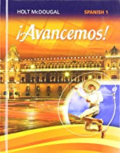 ¡avancemos!: Student Edition Level 1 2013 (Spanish Edition)