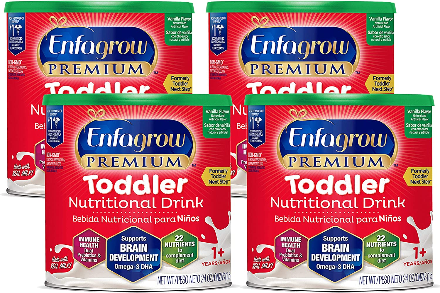 Enfagrow Premium Toddler Nutritional All items in Detroit Mall the store Vanilla Omeg Drink Flavor