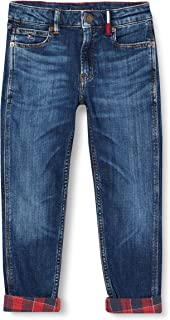 Ocean Light Blue Stretch 1AA 3-4 Years Tommy Hilfiger Boys Simon Skinny OCLBST Jeans Blue