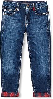 Tommy Hilfiger Modern Straight Chcktdmb Jeans para Niños