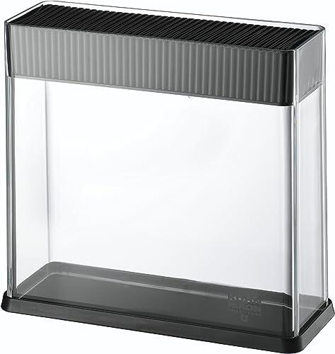 KUHN RIKON 26594 Porte-Couteau Vision Noir/Transparent, Plastique, 23,3 x 8,5 x 21,8 cm