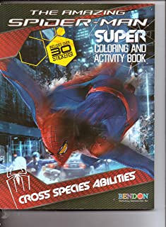 The Amazing Spider-Man Super Coloring & Activity Book (Includes over 30 Stickers) Cross Species Abilities