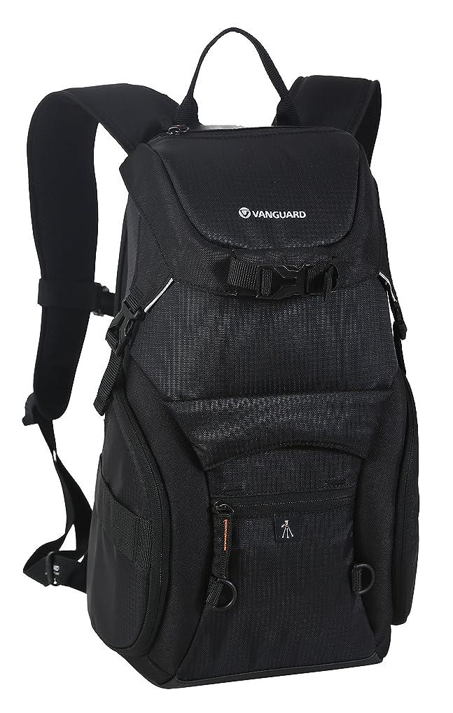 広告国際書き出すVANGUARD カメラリュック Adaptorシリーズ 14.4L レインカバー 三脚脱着可能 ブラック Adaptor 48BK