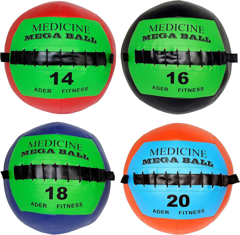 Ader Soft Clearance SALE price Limited time Mega Medicine Ball Set- 20 14 Lb 18 16