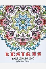 Adult Coloring Book: Designs Paperback