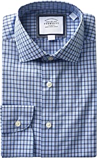 Charles Tyrwhitt Slim Fit Non Iron Mens Dress Shirt with Button Cuff