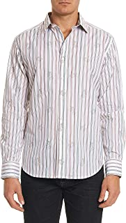 Robert Graham Men's Monkey See Long Sleeve Shirt