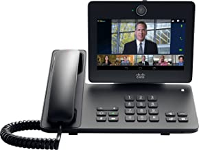 Cisco DX650 Desktop Collaboration Experience (VoIP Phone, Video Conferencing, Instant Messaging, Touchscreen, CP-DX650-K9)