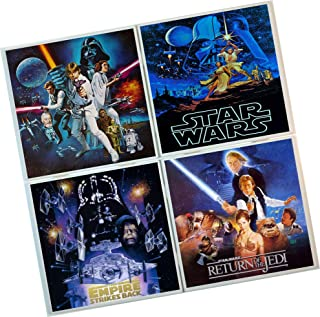 Star Wars Coasters : Set of 4 Tile Coasters : Movie coasters, poster images
