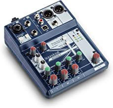 Soundcraft Notepad-5 Small-Format Analog Mixing Console with USB I/O, 5-channel mixer (Notepad-5)