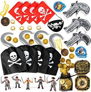 Fancy Dress Up Costume Accessories SW Pirate Coins /& Treasure Pouch 12 coins