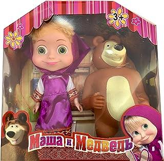 SKEIDO Masha and the Bear in purple dress
