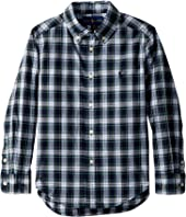 Polo Ralph Lauren Kids - Tartan Cotton Poplin Shirt (Toddler)