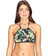 Lucky Brand - Coastal Palms High Neck Top