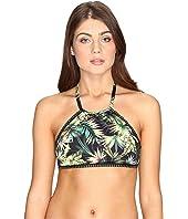 Lucky Brand - Coastal Palms High Neck Top