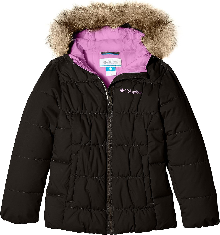Columbia Girl's GYROSLOPE Jacket-Black/CrownJewel M