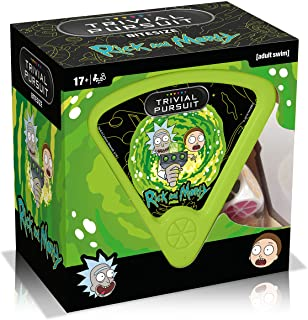Winning Moves Rick and Morty Trivial Pursuit Game