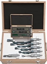 Mitutoyo 103-907-40 Outside Micrometer Set with Standards, 0-6