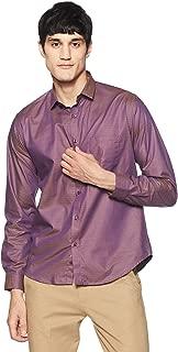 V Dot Van Heusen Men's Checkered Slim Fit Casual Shirt