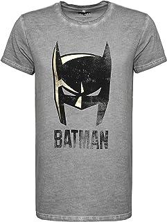 Sublevel Camiseta de manga corta para hombre, diseño vintage de Batman