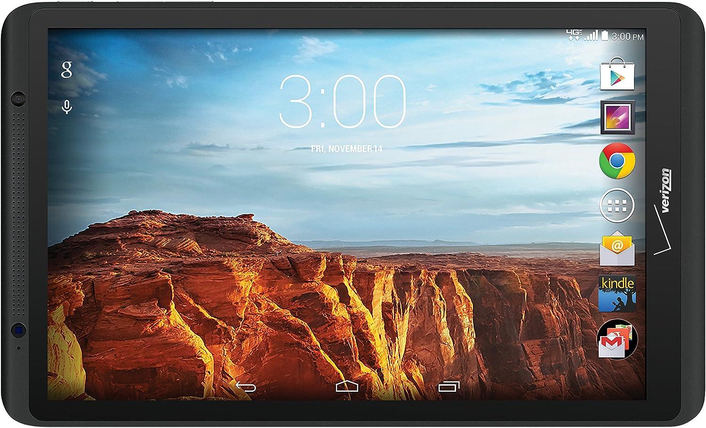 Mail order Verizon Ellipsis Super intense SALE 8 4G LTE 8-Inch Tablet Black 16GB Wir