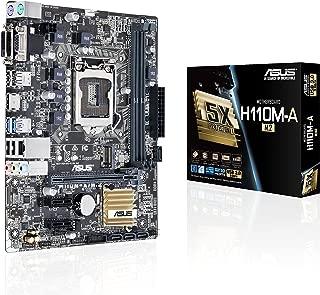 ASUS LGA1151 DDR4 M.2 HDMI DVI USB3.0 H110 MicroATX Motherboard (H110M-A/M.2)