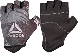 Reebok Men's and Women's Featherlight Weight Lifting Workout Gloves with Natural Suede Grip