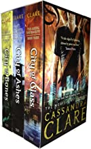 The Mortal Instruments 3 Books city of ashes, bones & glass