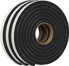 Duck Vedação autoadesiva de espuma Weatherstrip da marca para lacunas extragrandes, 0,9 cm x 0,6 cm x 3 m, 3 rolos, 284424