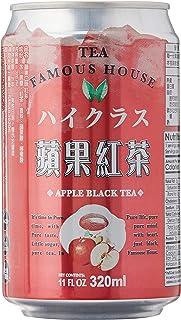 Famous House Apple Black Tea Drink, Apple, 340 ml