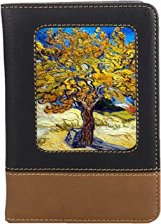 Mulberry Tree Leatherette Travel Passport Wallet Case Cover with Card Slots