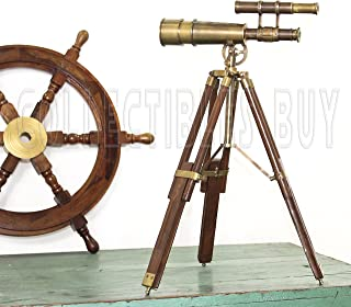Nautical Table Decor Telescope vintage marine Gift Functional Instrument