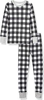 Amazon Essentials Kids' Long-Sleeve Tight-fit 2-Piece Pajama Set