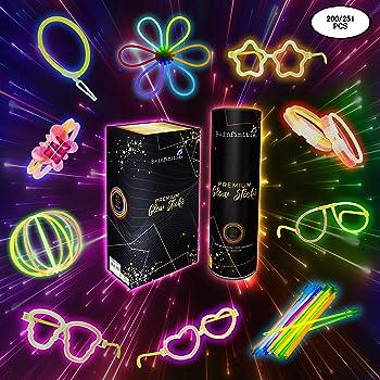 Pulseras Luminosas Fluorescentes Para Fiestas de Cumpleaños o Boda ...