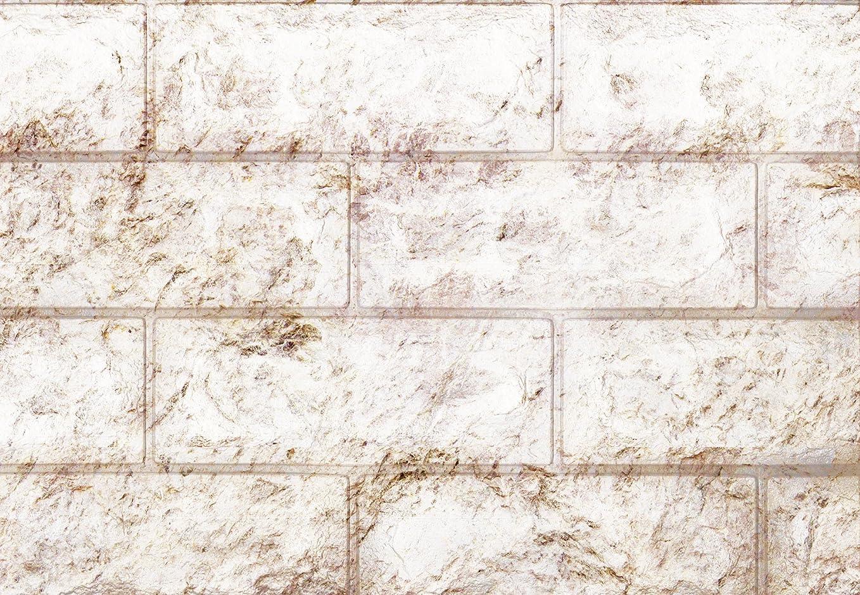 トーン重なるスクラッチ武田コーポレーション/壁紙、壁紙シール、3D立体シート/【ウォール クッションシート レンガ柄 3枚組】ブラウン(K7-UKR3BR)